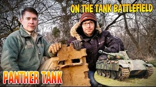 Panther Tank Excavation on battlefield! WW2 Panther segments and more! WW2 metal detecting