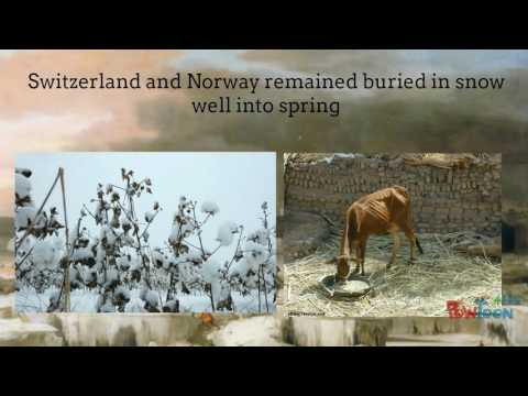 Lecture 7 The Little Ice Age