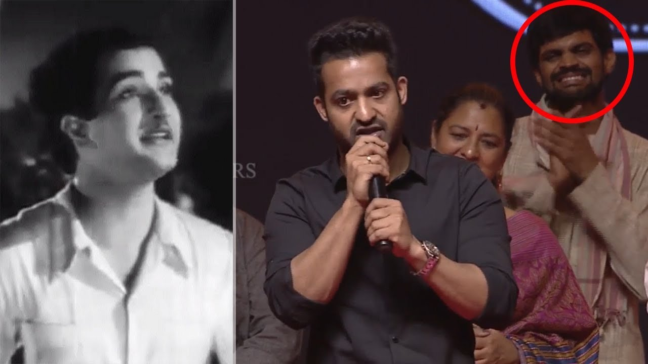 jr ntr gives clarity on his cameo as sr ntr in mahanati movie