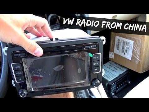 Jetta Golf MK5 Chinese Radio RCD510 Review