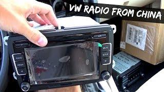 Jetta Golf MK5 Chinese Radio RCD510 Review