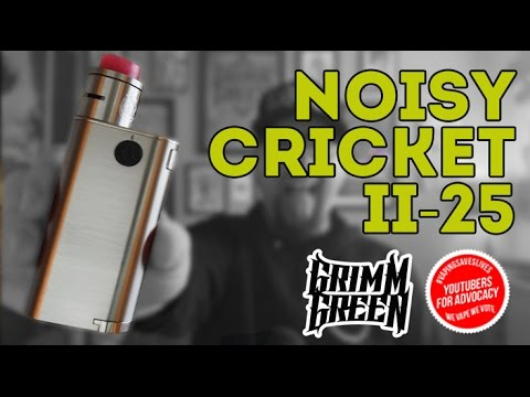 Wismec Noisy Cricket II-25 Review