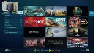 How to use your Steam Controller with Uplay