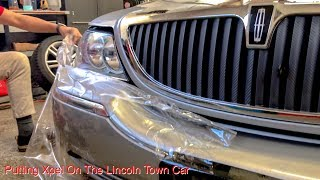 Putting Xpel On The Lincoln Town Car
