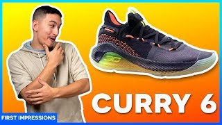 UNDER ARMOUR CURRY 6 - Review/First Impression