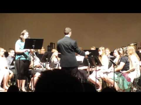 Kayla Blinston--Concierto with Plattsmouth High School