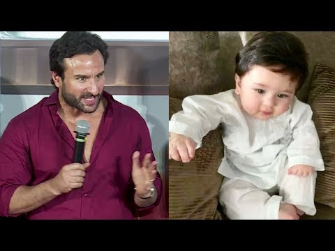 Saif Ali Khan On CUTE Taimur Ali Khan