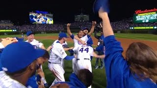 10/13/15: Wrigley revelry: Cubs advance to NLCS