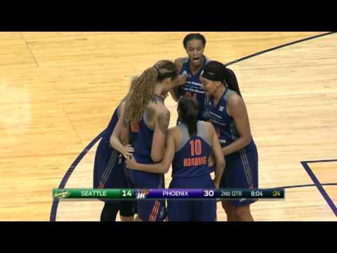 Mercury Top Storm in Penny Taylor's Final Home Game