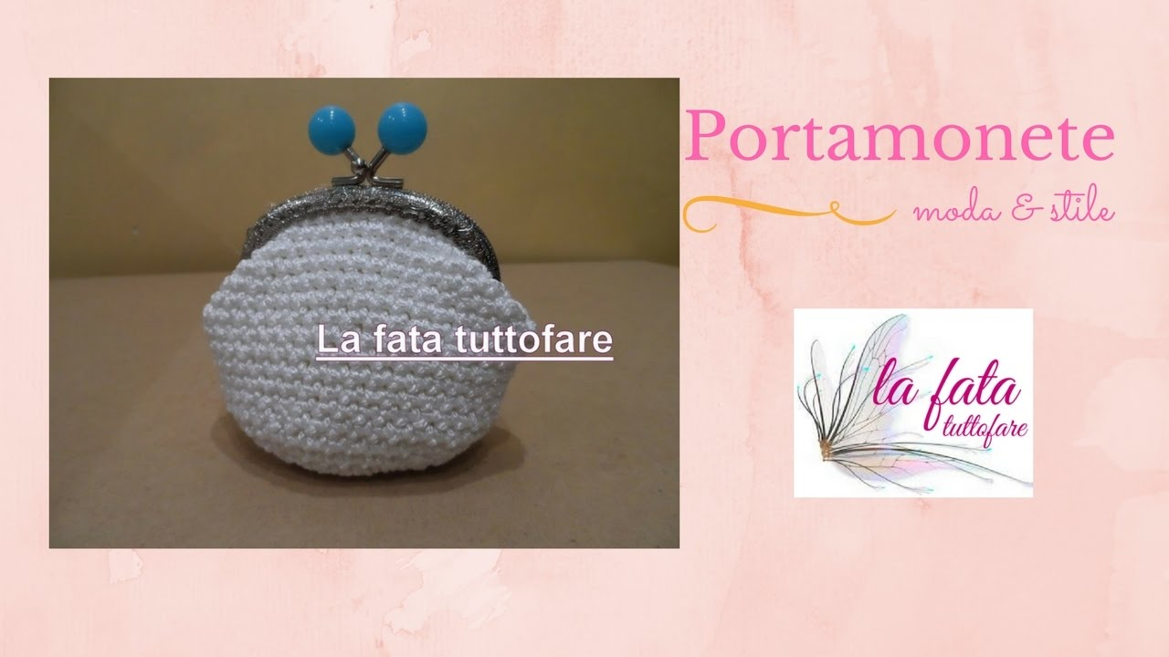 Molto Tutorial: portamonete facilissimo con cliclac - YouTube XP76
