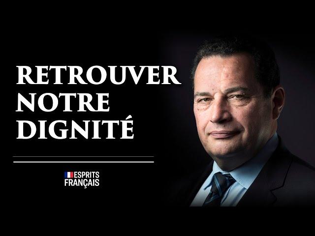 Jean-Frédéric Poisson, président de VIA  | Retrouver notre dignité et ne pas se laisser étouffer