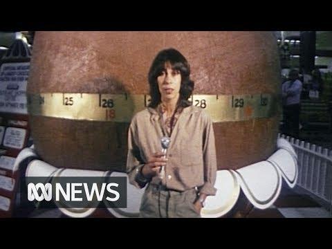 World's Biggest Chocolate Egg Sets 1978 World Record | RetroFocus