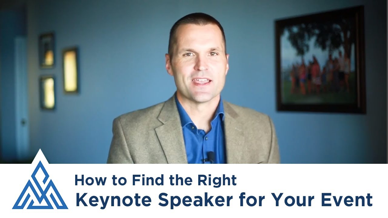How to Find the Right Keynote Speaker for Your Event: 3 Considerations to  Make