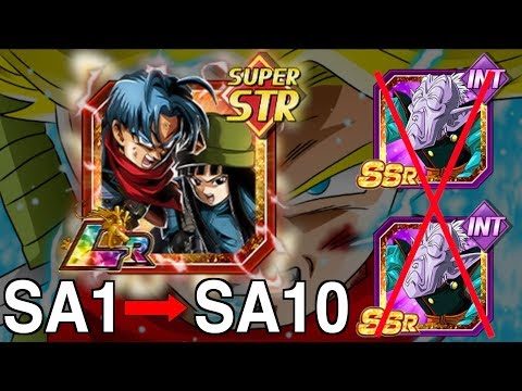 *FREE* LR TRUNKS & MAI - SA1 TO SA10! LIMITED TIME GRIND! Dragon Ball Z Dokkan Battle! DBZ