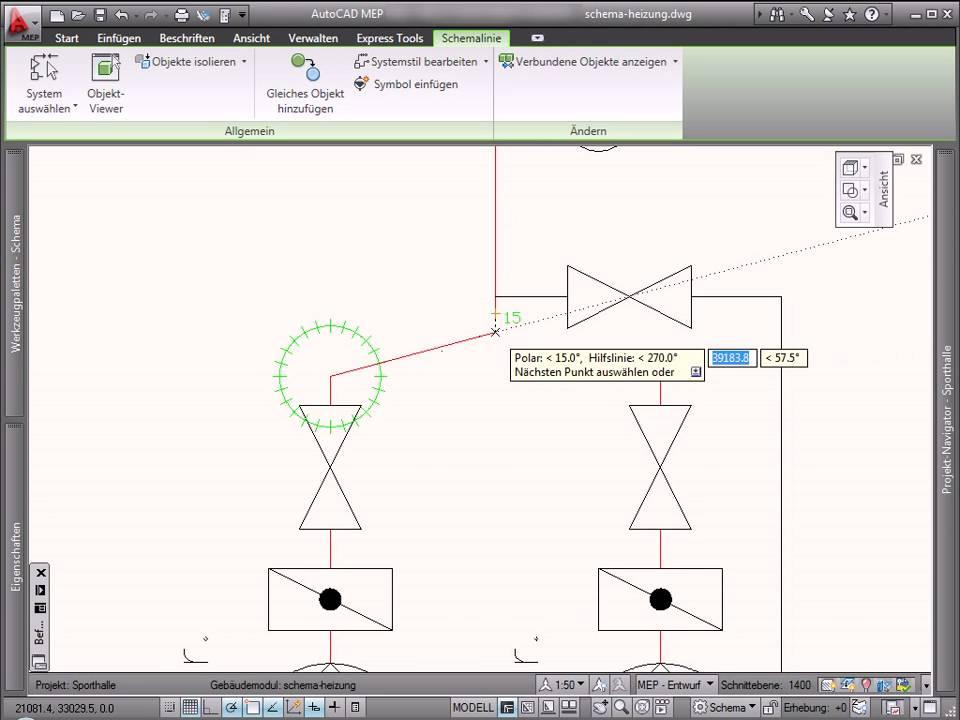 AutoCAD MEP - Schema - YouTube