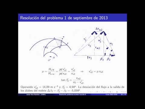 umh1810 2013-14 Lec006 Estudio particular bombas centrífugas. Problemas de exámenes 1