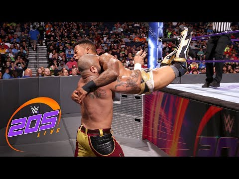 Lio Rush vs Ricky Martinez: WWE 205 , July 31, 2018