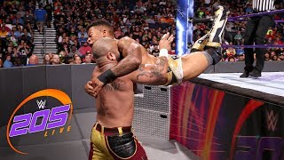 Lio Rush vs. Ricky Martinez: WWE 205 Live, July 31, 2018