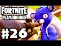 Playground Sniper Fort Battle! - Fortnite - Gameplay Part 26