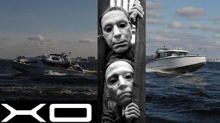Тест владельца катера XO 270 Cabin на воде