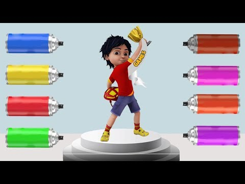 The Coloring Shiva Cartoon Hindi Learn Color Finger Family Nursery Rhymes For Kids
