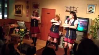 新年度進発式にて私たち職員を楽しませるために頑張って踊ってくれました♪( ´▽`)