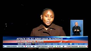 Attack on AU army base in Somalia:  Sarah Kimani