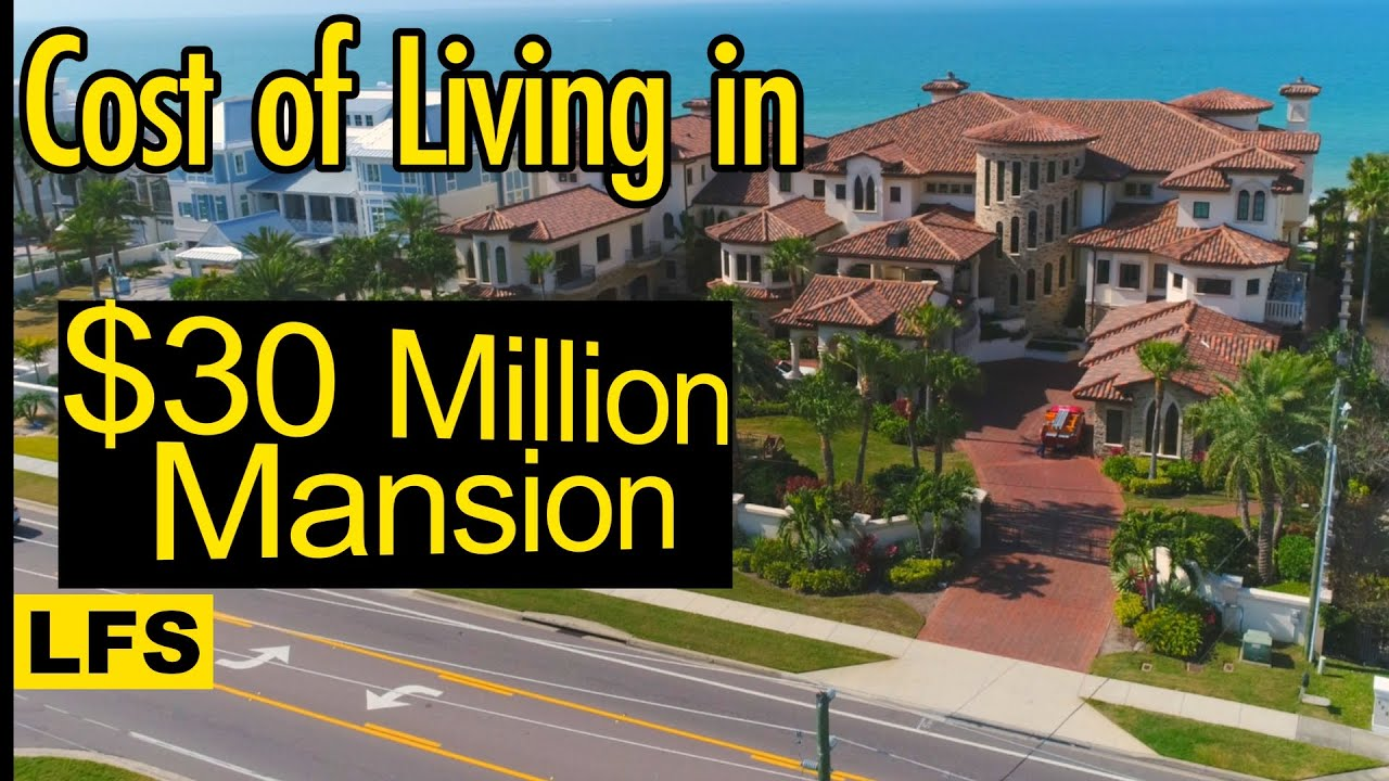 Download Cost of Living in $30 Million Mansion - Life for Sale