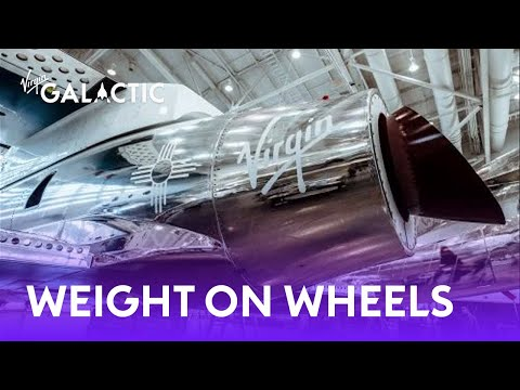 Second spaceship in Virgin Galactics fleet completes Weight on Wheels milestone