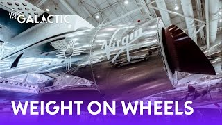 Second spaceship in Virgin Galactic's fleet completes Weight on Wheels milestone
