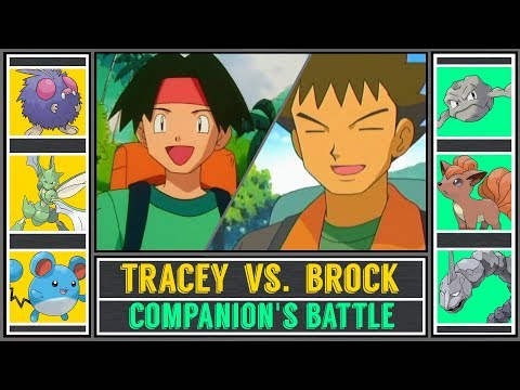 Brock vs. Tracey (Pokémon Ultra Sun/Moon) - Battle of Companions