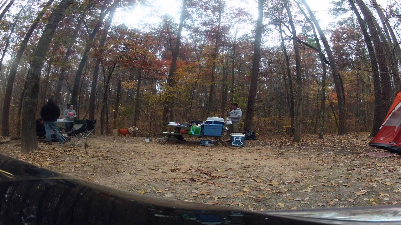 Camping At Kings Mountain State Park