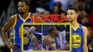 STEPHEN CURRY AND KEVIN DURANT EJECTED AFTER LOSING TO MEMPHIS GRIZZLES! LMAO WARRIORS VS GRIZZLIES