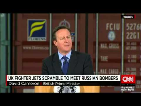 UK jets intercept Russian aircraft near British airspace