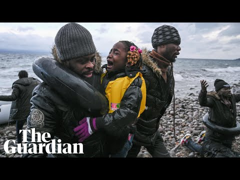 Refugees arrive on Lesbos as Turkey opens border