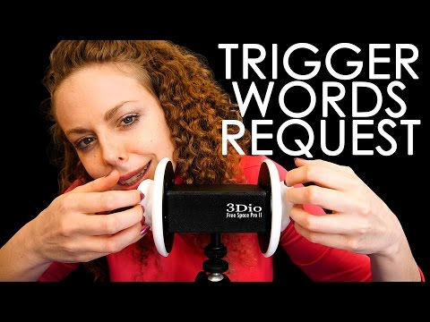 Your ASMR Trigger Words Requests! – Ear to Ear Whisper & Soft Spoken For Sleep Relaxation