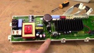 LG WD-12231TB washing machine ''time bomb beep'' repair