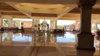 Обзор лобби и ресепшена в популярном отеле с аквапарком Титаник Палас Отдых в Хургаде 2021