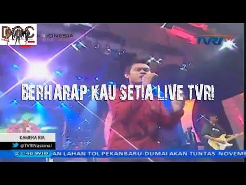 D'WAPINZ Live kameraria TVRI - BERHARAP KAU SETIA
