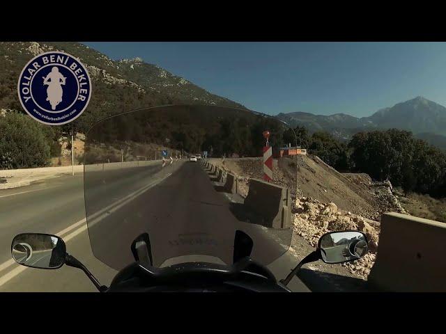 SADECE YOL // Oğlumla Çıralı - Kemer Sürüşü // Haziran 2020 // Honda NT700V Deauville