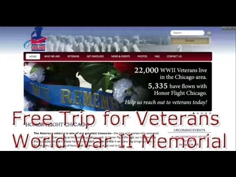 Honor Veterans with Free Trip To World  War II Memorial Washington D.C.