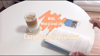 Lazy Peaceful Sunday_ 한량 홈카페 일…