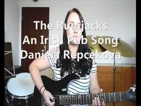 The Rumjacks - An Irish Pub Song  (Guitar cover by Daniela Repcekova)