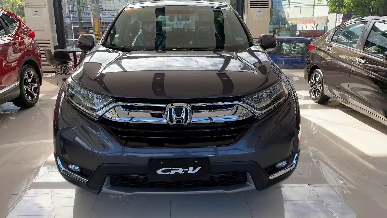 2019 Honda Crv 2 0 S Cvt Philippines Modern Steel Youtube