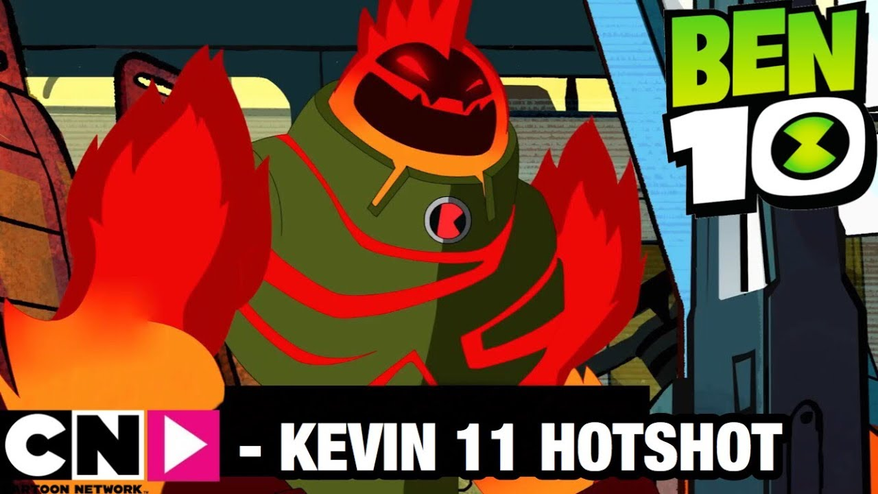Ben 10 Reboot Season 3 Kevin 11 Hotshot Transformation + Anlysis