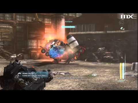 Transformers Dark of the Moon - Mixmaster Boss Battle HD