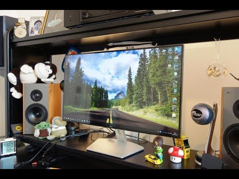 """Dell S2719H review - A stunning 27"""" Full HD IPS monitor - By TotallydubbedHD"""