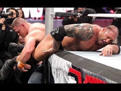 WWE Extreme Rules 2010  review (John Cena vs Batista Last Man Standing- main event)