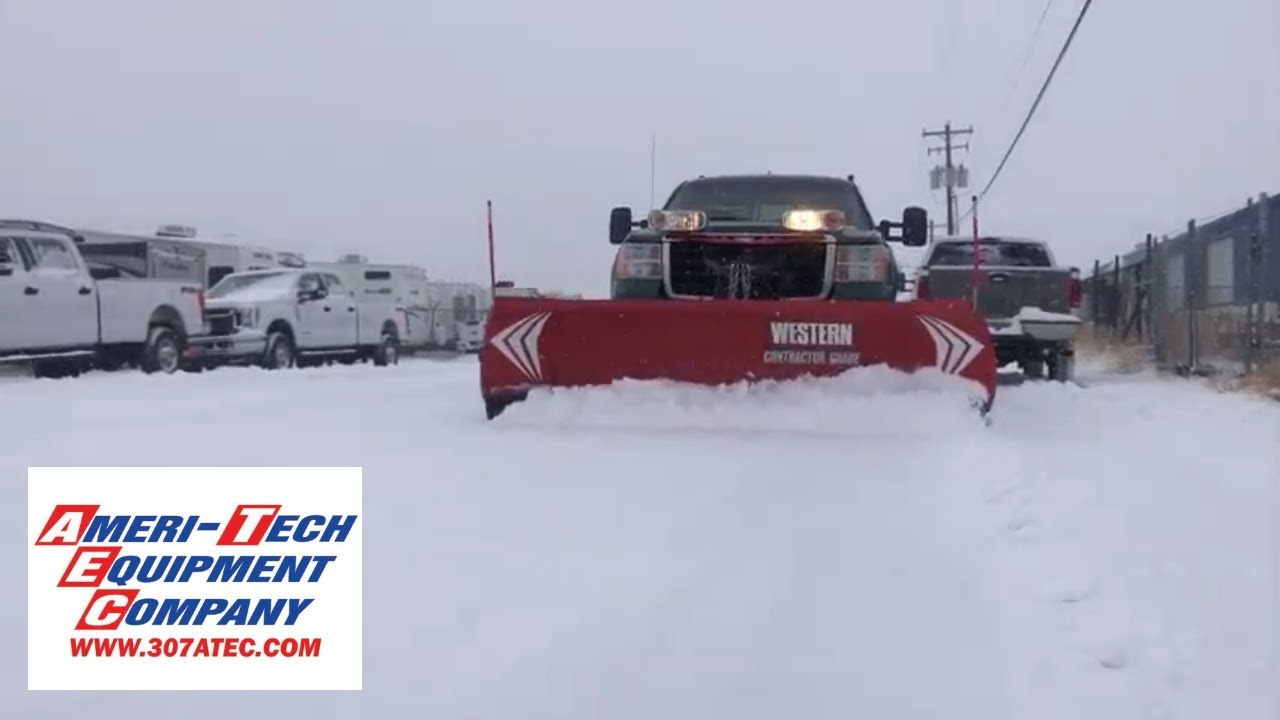 hight resolution of blizzard snow plow used