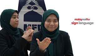 Malay Mail For : Sign Language